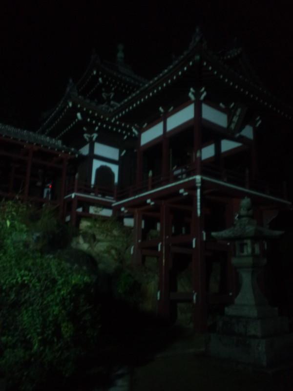 夜の普明閣