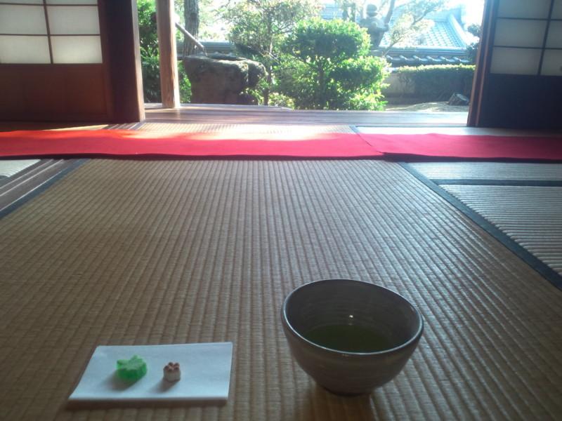 お抹茶と和菓子@白雪楼