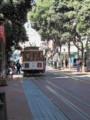 サンフランシスコ名物ケーブルカー