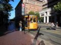 レトロな市街電車