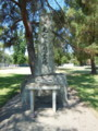 初期の日本人入植者の慰霊碑
