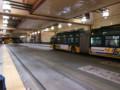 バス・ライトレール共用の地下トンネル(シアトル)