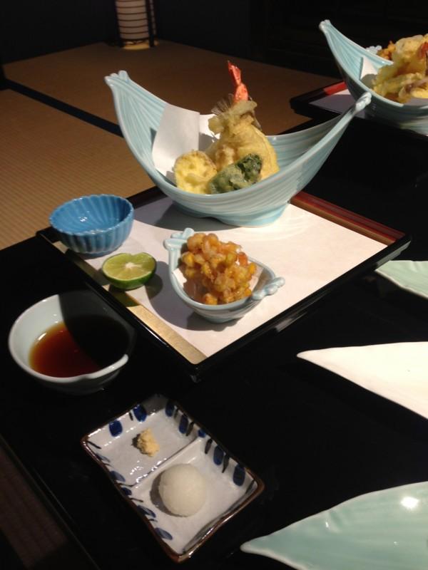 夕飯その3: 天ぷら