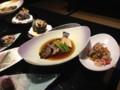 夕飯その4: 煮魚とつぼ焼きとマリネ