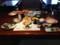 朝食。左手にあるのがはぶて焼き #tamayura