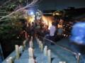 照蓮寺の山門から見下ろす