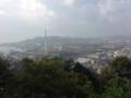 鎮海山から竹原港方面