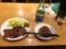 牛タン焼きと日本酒とお通しのタン豆腐