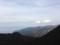 土肥中央林道からの富士山&駿河湾。赤い橋はR136