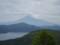 大観山から見た富士山と芦ノ湖