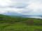 三国峠から見た富士山と山中湖