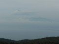 駿河湾越しに見える富士山