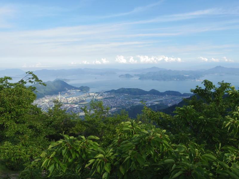 朝日山より(1)