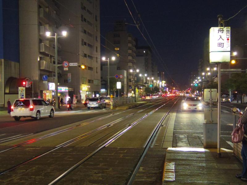 広島市電停留所