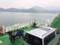 大崎下島→大崎上島のフェリー船内