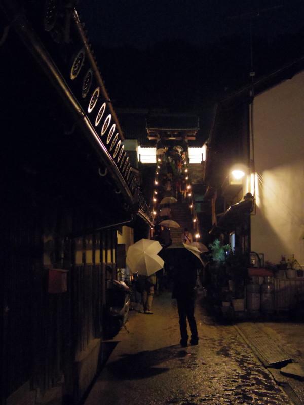 夜の西方寺