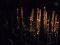 旧笠井邸の竹灯り(2)