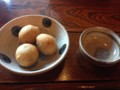 おかべ揚げ(豆腐と山芋の揚げ物)