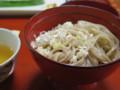蕎麦(おかわり自由)