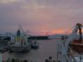 明石海峡大橋が見える