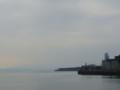 朝の三原港