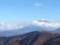 山並みの向こうの富士山