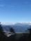 富士川沿いの街と富士山