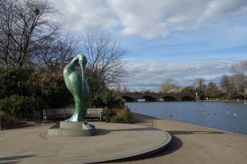 Hyde Parkの彫像
