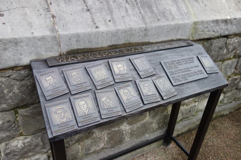 WWI・II中にここで処刑されたスパイ一覧