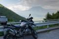 林道からの富士山