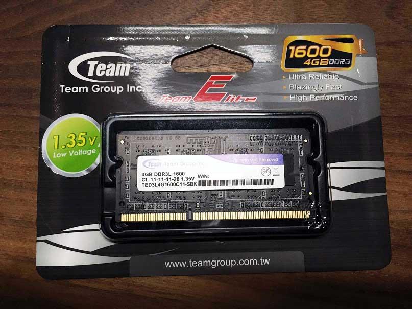 Team DDR3 S.O.DIMM