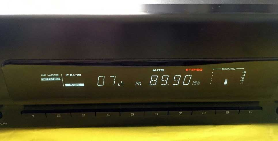 KT-6040 ディスプレイ