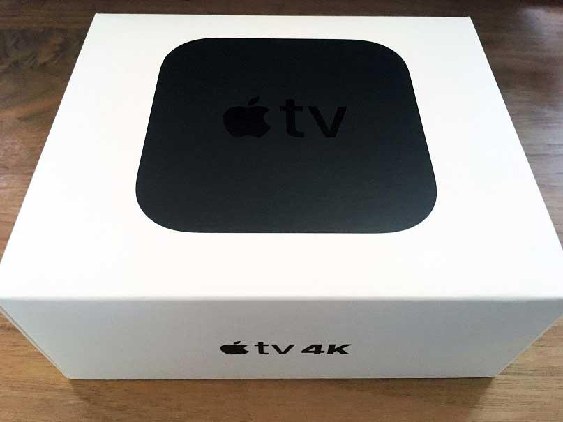 Apple TV 4K 外箱