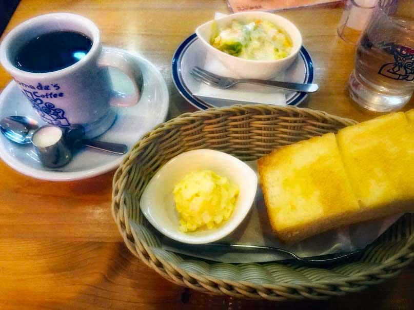 コメダ珈琲 朝食