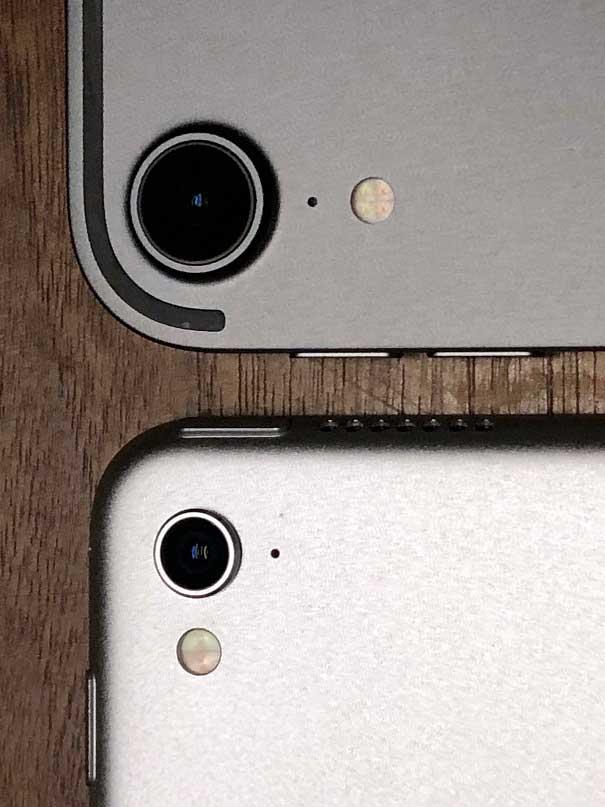 iPad Pro カメラレンズ部
