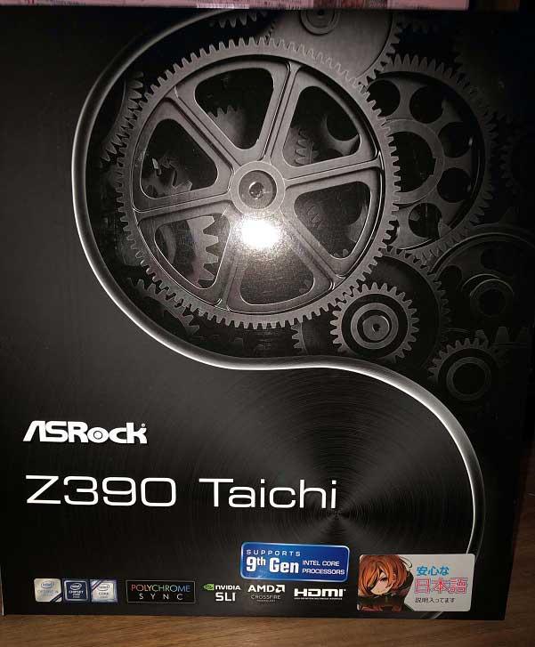 Z390 Taichi 外箱