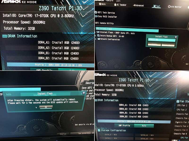 Z390 Taichi UEFI