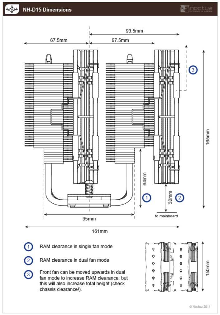 NH-D15 寸法図