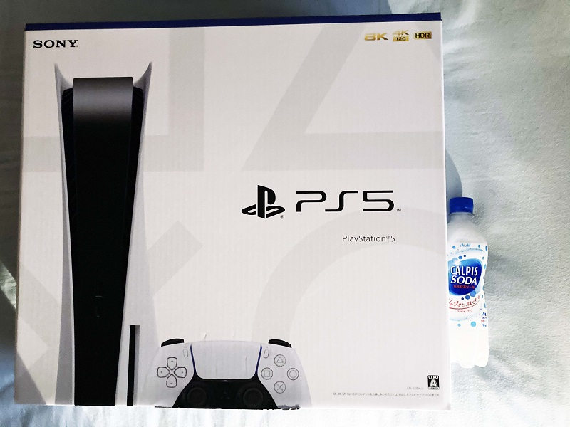 PlayStation 5 外箱