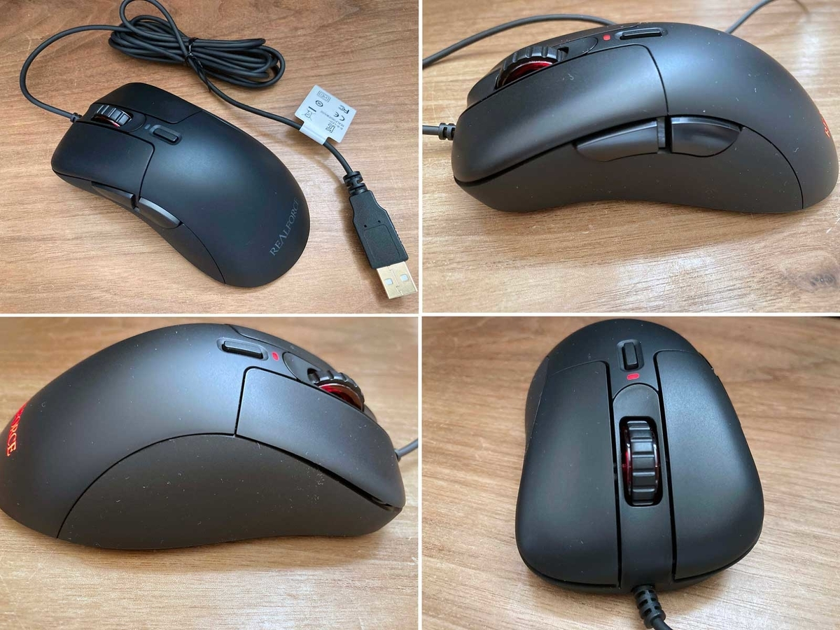 REALFORCE MOUSE 外観