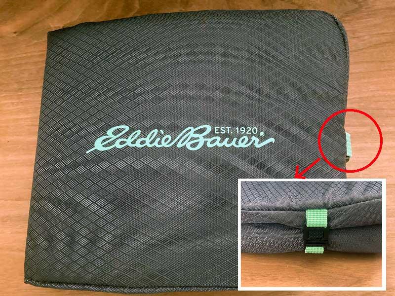 Eddie Bauer Happy Bag 2021 エコバッグ折りたたみ