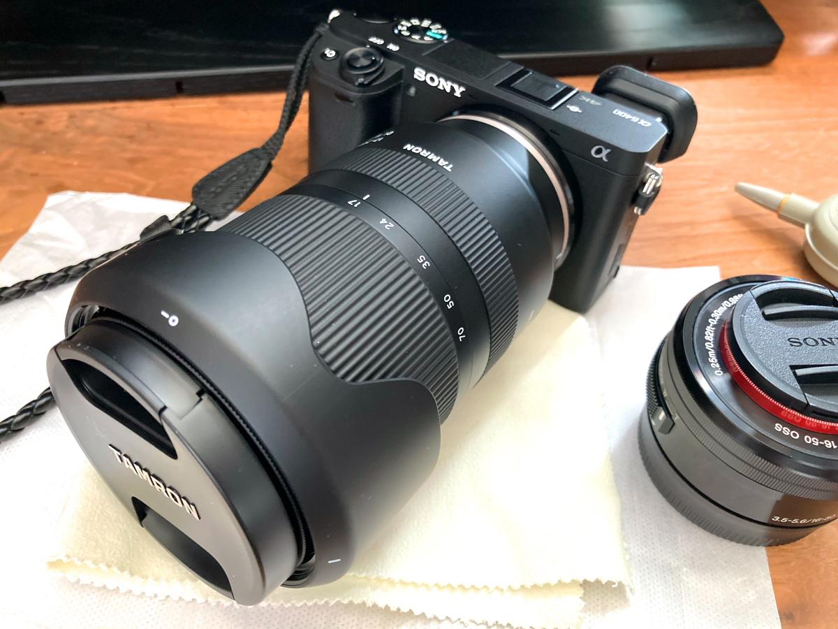 17-70mm F/2.8 Di III-A VC RXD x α6400