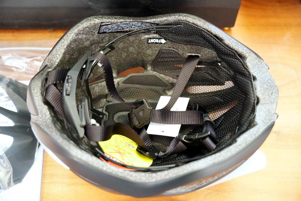 ヘルメット内部