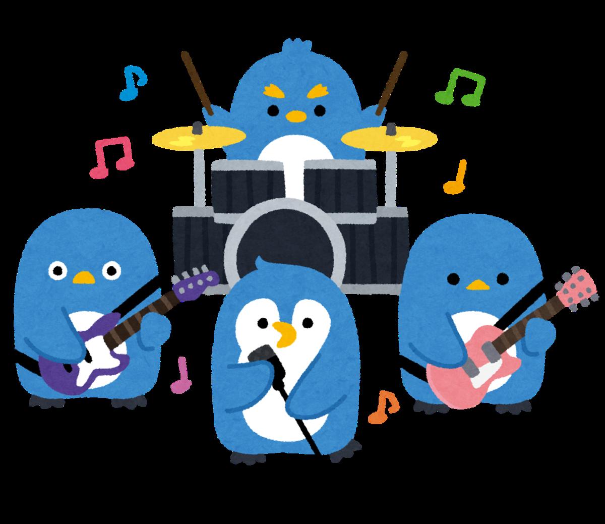ペンギンバンドの絵
