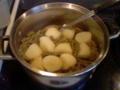 [food]Green beans and potatos