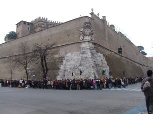 バチカン・城壁