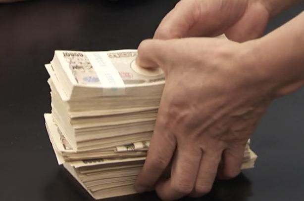 賞金の1000万円