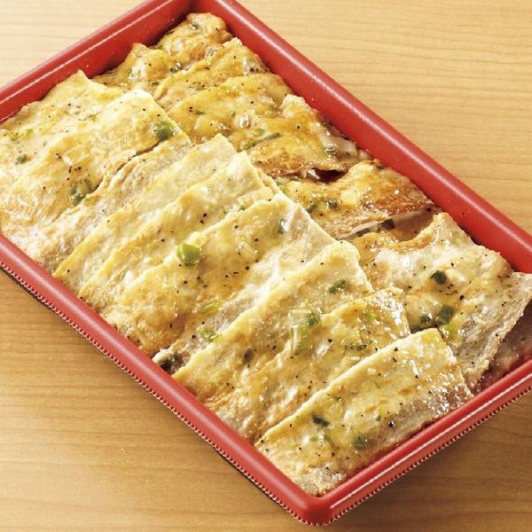 ねぎ塩豚カルビ弁当(麦飯)