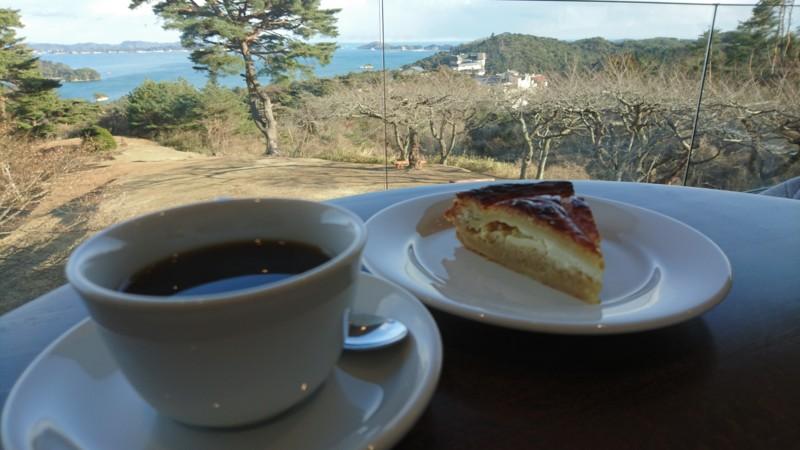 ブレンドコーヒーとガレットマム