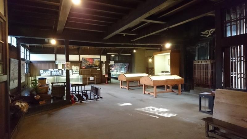 石黒家の展示スペース